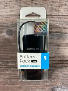 Samsung Battery Pack Mini 2100mAh Capacity USB to MicroUSB Cable - Brand New!