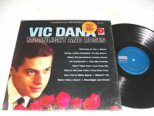 """Vic Dana """"Moonlight And Roses"""" 1965 LP, VG+, Stereo, Dolton #BST-8036"""