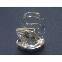 Cristal Mundo Pequeño Corte Swan Estatuilla De - Maravilloso Ave Ornamento