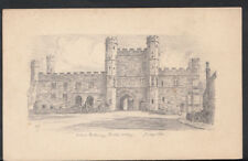 Sussex Postcard - Pencil Drawing of The Gatway, Battle Abbey RS4164