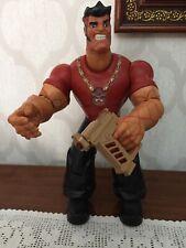 Action Man Atom Mega Pain Hasbro 2005 Big Size Jumbo Led Sound 30cm
