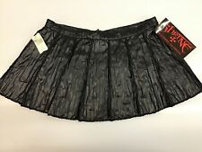 Shrine Hollywood DEVIL DOLL SKIRT NEW NWT Black Gothic Skirt SZ S GOTH