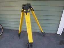 Spectra Precision Survey Tripod Tool Grade Level Laser Tripod Yellow Nice See
