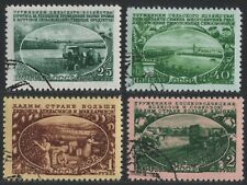 Russia / Sowjetunion 1951 - Mi-Nr. 1566-1569 gest / used - Landwirtschaft
