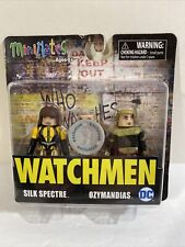 Minimates: Watchmen Silk Spectre And Ozymandias Dc (Alan Moore) Tru Exclusive