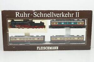 H0--FLEISCHMANN - 1888 (DC) ..DRG Zug-Set Ruhr-Schnellverkehr II ..OVP  ..G3 /64