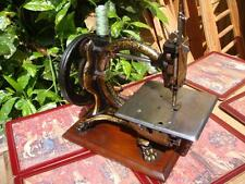 Antique Vintage Old Victorian Royal Sewing Machine Company Shakespeare See Video