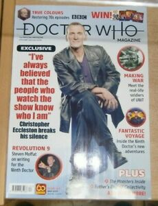 BBC Doctor Who Magazine #563 2021 Christopher Eccleston, Steven Moffat, 9th Doc