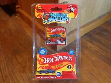 2017 SUPER IMPULSE--WORLD'S SMALLEST--HOT WHEELS RED BONE SHAKER CAR (NEW)
