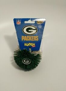 Vintage 90s Green Bay Packers Koosh Ball NFL Football Toy 🦋 NEW RARE !!