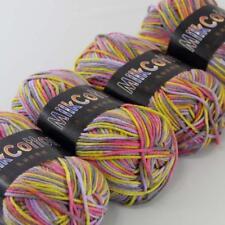 C Fashion 4ballx50g Cotton Baby Hand-dyed Wool Socks Scarf Yarn Knitting Yarn 19
