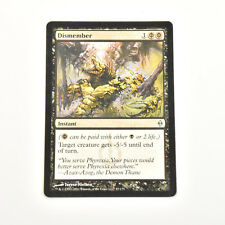 MTG DISMEMBER New Phyrexia (LP) English Uncommon Normal