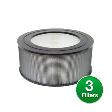 21500 Replacement Hepa Air Purifier Filter For Honeywell 18155 (3 Pack)