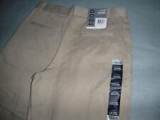 iZOD Boys School Uniform Casual PANTS SIZE 12 HUSKY Khaki
