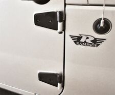 Door Hinge-Sport Front,Rear Rampage 87641 fits 15-16 Jeep Wrangler