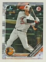 2019 Bowman Draft BD-1 ADLEY RUTSCHMAN RC Rookie Baltimore Orioles QTY AVAILABLE