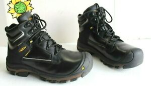 "KEEN Utility Men's Portland 6"" Alloy Toe Puncture Resistant Work Boots.Size 10.5"