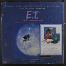 MICHAEL JACKSON: E.t. The Extra-terrestrial LP (box set, storybook, shrink tape