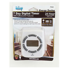 7 Day  Digital Timer / Astronomic / 24HR Programmable/ Light Lamp Outlet Switch