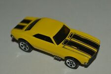 Vintage 1982 Hot Wheels '67 CAMARO Yellow Color Malaysia Die Cast Used 1:64