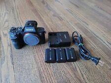 Sony Alpha 7R III 42.4 MP Mirrorless Digital Camera Body Only