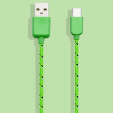 Nylon Braided Strong USB-C USB 3.1 Type C Data Charger Cable 3M