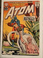 Showcase # 34 - 1st SA Atom (Ray Palmer)! 09-10/1961!