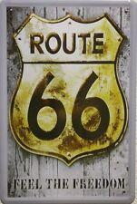 route 66 - Metallschild 20x30