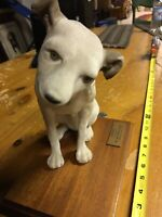 """VINTAGE COLLECTIBLE - ORIGINAL RCA VICTOR NIPPER 10"""" DOG *RARE! *HARD to FIND!"""