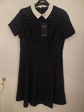 Viscose Casual Striped Dresses for Women