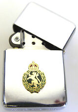 WRAC WOMENS ROYAL ARMY CORPS REGIMENTAL WINDPROOF CHROME PLATED LIGHTER