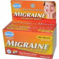 Migraine Headache Relief, 60 Tablets, Homeopathic - Hyland's