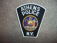 Athens NY Police patch