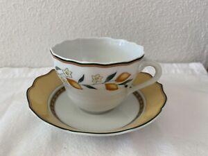 hutschenreuther medley alfabia Kaffeetasse mit Untertasse