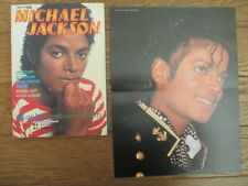 MICHAEL JACKSON Adlib 1984 JAPAN Special Issue Magazine Book w/ Pin-up OOP