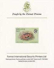 Belize 5112 - 1984 MARINE LIFE 50c  imperf on Format International PROOF  CARD