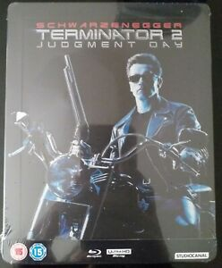 Steelbook Terminator Le Jugement Dernier Zavvi Neuf