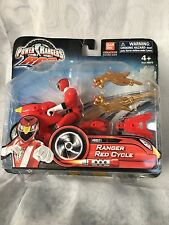 Ban Dai Power Rangers 2009 Rpm Ranger Red Cycle 88071 Rare Collectors Choice New
