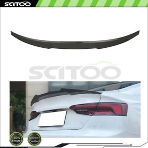 For 2017-2020 Audi A5 S5 Coupe Carbon Fiber Rear Trunk Lid Spoiler Wing