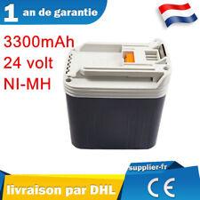 24V 3,3Ah Batterie pour Makita 24 volt BH2430 BH2433 BDF460 BHP460 BHR200 Ni-MH
