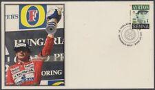 CANADA # 2995.8 - FORMULA 1 AYRTON SENNA POSTAGE STAMP on SUPERB ENVELOPE #8
