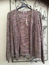 Marks & Spencer Ladies Per Una Pink Mix Tassel Cardigan. Size 20. BNWT
