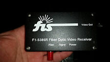 FIS Video Transmitter And Receiver W/2 Power Supplies