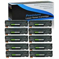 10PK CF283A Toner Cartridge For HP 83A LaserJet Pro MFP M225dn M225dw Printer