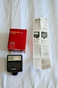 Dixons 177 Flashgun Auto Manual Hot Shoe Attachment Boxed