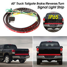 "60"" Car Truck LED Strip Tailgate Light Bar Signal Reverse Brake"