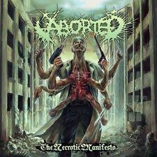 ABORTED - THE NECROTIC MANIFESTO  CD NEU