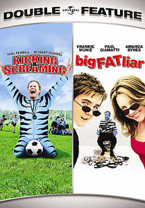Kicking  Screaming/Big Fat Liar Double Feature (DVD, 2007, 2-Disc Set) NEW