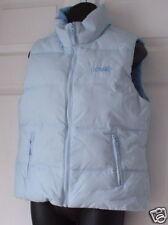 Aero Wms Baby Blue Puffy Down Jacket Vest Medium