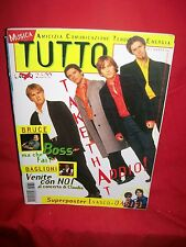 TUTTO Mar 1996 TAKE THAT Springsteen Baglioni Sting Dion Ecstasy Nick Cave Ambra